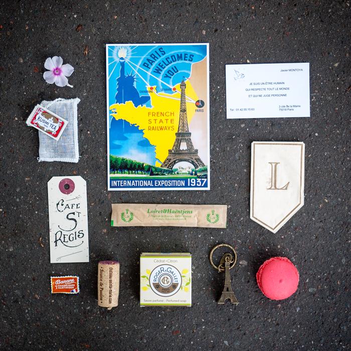 Memorabilia from Paris France