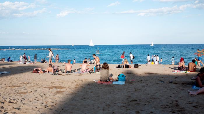Playa-Sant-Sebastia-Barceloneta-Barcelona-Spain-Beach
