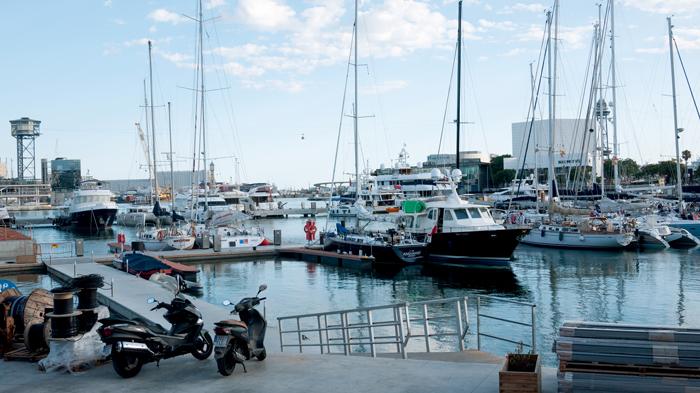 Port-Vell-Boats-Barcelona-Spain