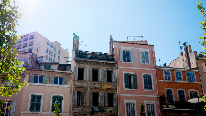 Sunlight Over Buildings