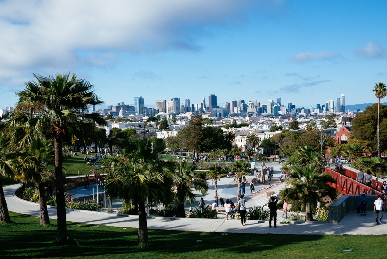 San-Francisco-Travel-Guide-Mission-Dolores Park-View