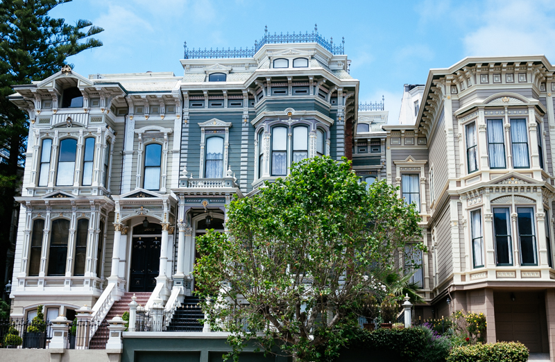 San Francisco Travel Guide Victorian Painted Ladies