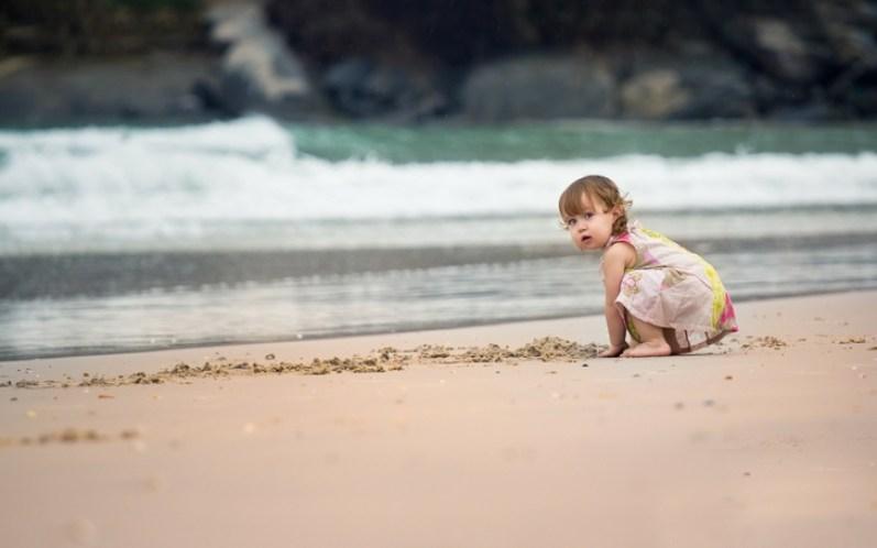 Пляж дуже корисний для дітей