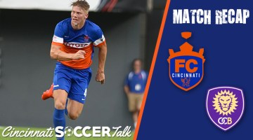 FC Cincinnati Beats OCB & Locks Up the 3rd Spot in the East