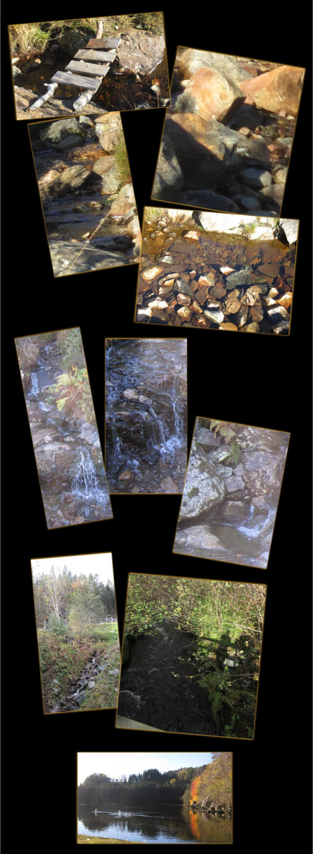 October 13 and 15, 2014 - Wordless Wednesday: mountain stream