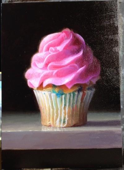 Birthday Cupcake • Sold