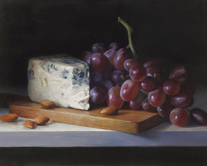 Grapes and Gorgonzola