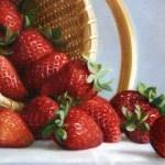 Strawberries detail