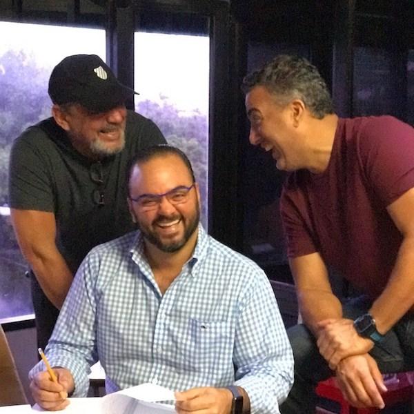 Alfonso Rodriguez, Giancarlo Beras y Francisco Vasquez