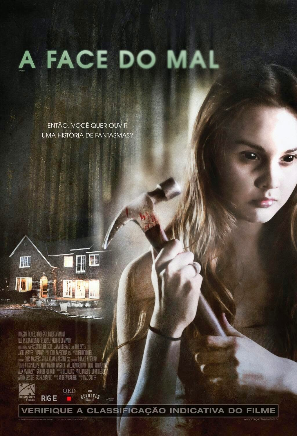 Poster do filme As Três Faces do Mal