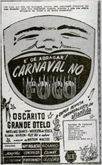 Poster do filme Carnaval no Fogo
