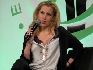 Gillian Anderson Talks X-Files at Emerald City Comicon 2013