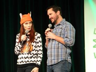 Wil Wheaton and Felicia Day at Emerald City Comicon 2013