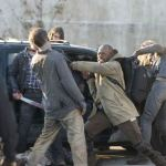 TWD S5 Ep16 Morgan fighting