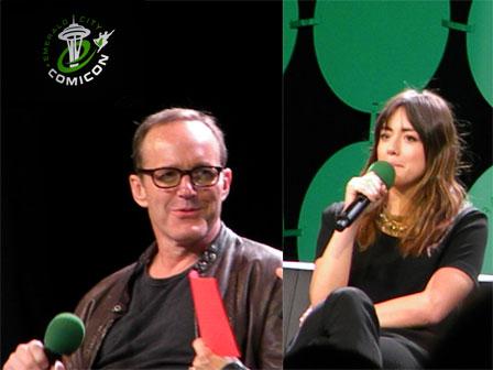 Emerald City Comicon 2015 Recap Part Three: Clark Gregg and Chloe Bennet