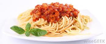 ragu spagetti