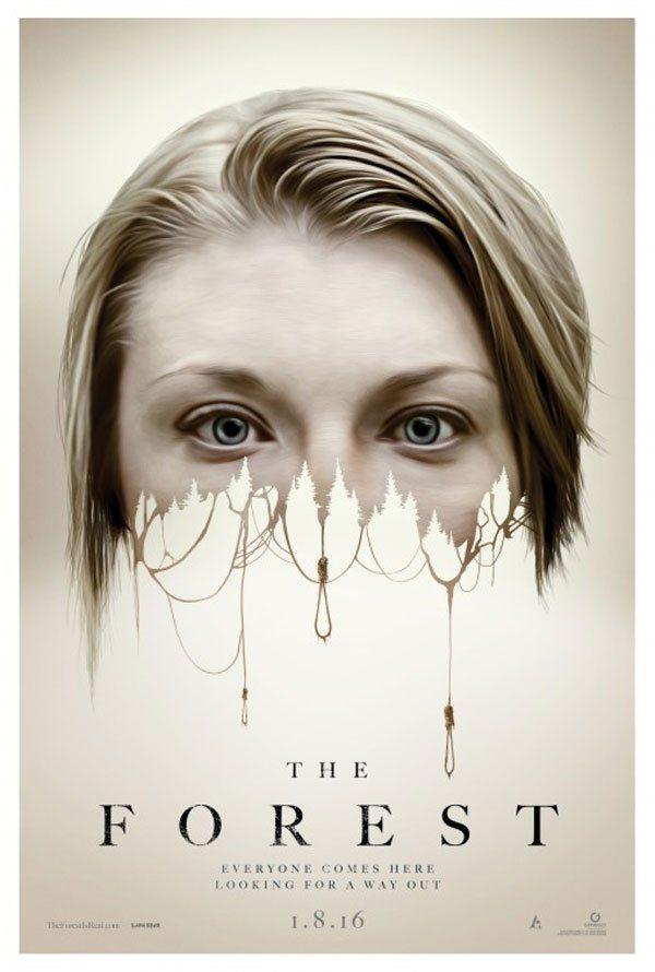 Natalie Dormer procura a irmã gêmea em novo trailer do terror Floresta Maldita