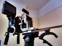 Hot New Shoot Blue Shoulder DSLR Rig & Cage pics