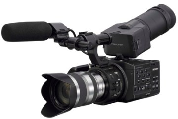 Sony NEX FS100 NXCAM S35 Camera
