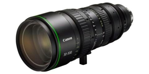 Canon FK30-300 4K Lens