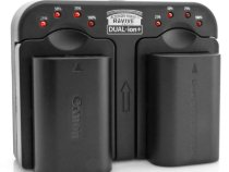 Charge 2 DSLR Batteries With ReVIVE DUAL-ion+ AC & Car: