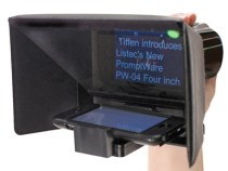 Listec PromptWare PW-04 Four Inch Teleprompter: