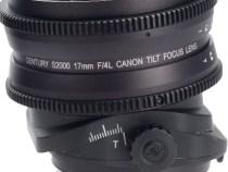 Schneider Optics S2000 Century Canon 17mm T4 Tilt-Focus Lens PL Mount: