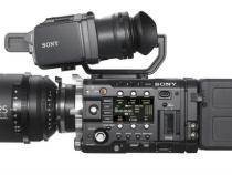 Sony CineAlta F5 and F55 4K Cameras Hands On Video Tour: