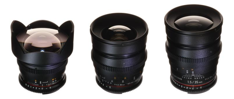 Samyang Uncoated Lens Set