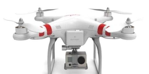 DJI Phantom GoPro Camera
