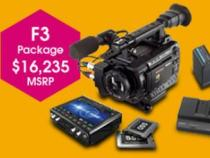 Sony PMW-F3G444 Promotional Camera Package Kit:
