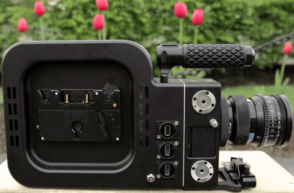 Black Betty Camera Side View