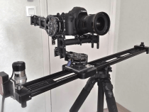Pssst Kessler Slider Meets Brushless Gimbal Rig For 4 Axis of Smooth Movement: