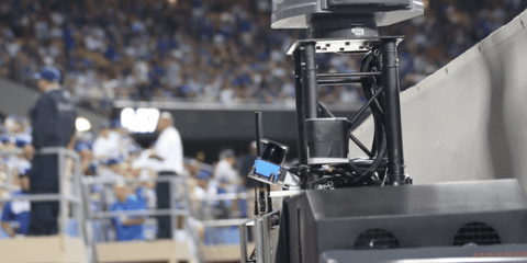 Trusscam Trolly Mounted Gyro-Stabilized Camera System