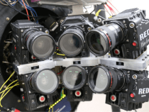 Pictorvision Eclipse 30K Multicam Array: Yes That is a 6 RED EPIC Camera Rig:
