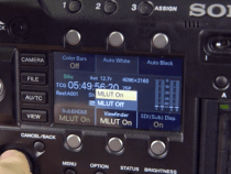 Shoot Blue & Their From The Kit Room Shows You All The Sony F55 Updates: