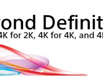Sony Says 4K for 2K, 4K for 4K, and 4K For All at NAB 2014: