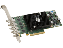 The Matrox X.mio3 LP SDI Video Card Offers Up To Eight Reconfigurable I/Os From SD to 4K: