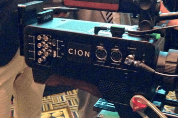 AJA CION 4K Camera NAB