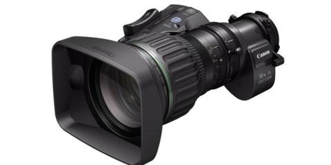 Canon HJ18ex7.6B portable HD zoom lens