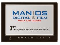 Manios Digital & Film Drops Low-Cost High Resolution 7″ HDMI Field Monitor at NAB 2014:
