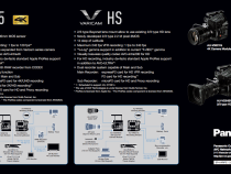 Panasonic VariCam 35 4K Camera Vs Panasonic VariCam HS Camera:
