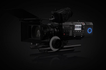 Panasonic Varicam 35 equipped with Codex V-RAW recorder module