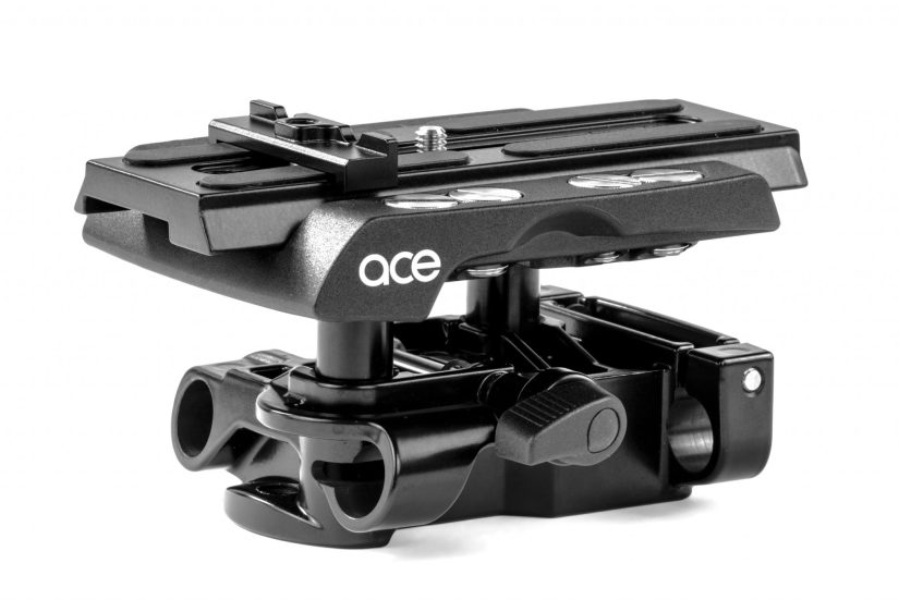 Sachtler Ace Baseplate side view