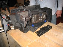 camRade Heat-emitting Rain Cover For the ARRI AMIRA Camera: