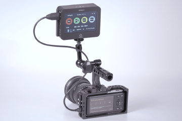 CAME-TV BMPCC Camera Cage Atomos Ninja 2