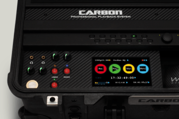 Carbon is a 10-bit 422 HD SSD-recorder