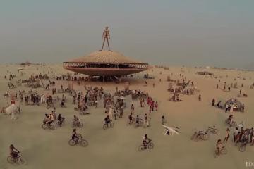 Burning Man UAV