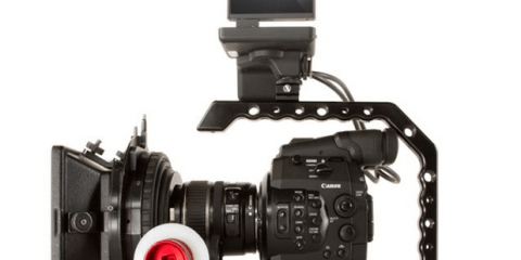 CANON C100 C300 C500 SHAPE PAPARAZZI HANDLE