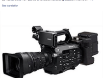 Oh and The Sony PXW-FS7 Leaks Another Picture